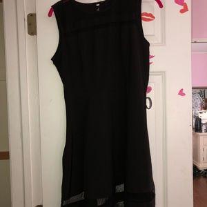 Other - Black sheer dress